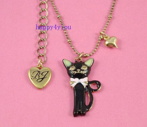 Kitty necklace!